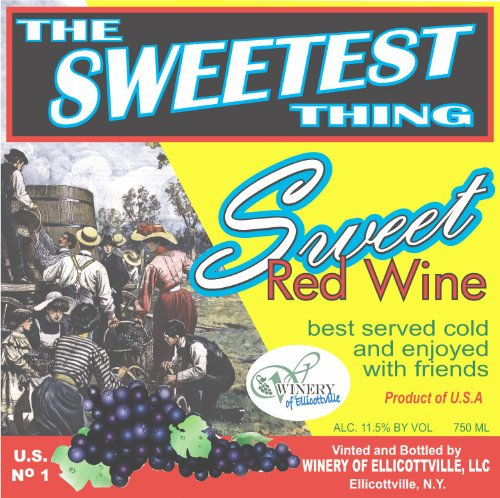 Nv Winery Of Ellicottville The Sweetest Thing Red 750 Ml