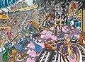 "Wasgij ""Destiny 16 Old Time Rockers"" Jigsaw Puzzle (1000-Piece, Multi-Colour)"