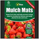 Vitax Biodegradable Strawberry, Lettuce, Shrubs & Roses Mulch Mats Pack 10