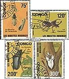 Congo (Brazzaville) 1258-1261 (completa.edición.) 1991 Nocivo escarabajos (sellos para los coleccionistas)
