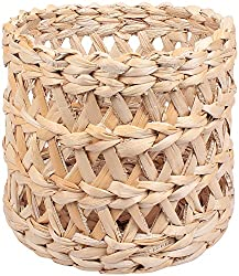 Bharat impex banana Basket (42cm dia x 38 cm height, natural, 226)