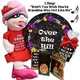 Art of Appreciation Gift Baskets Hillarious Over The Hill Birthday Gift Box, Hot Grandma