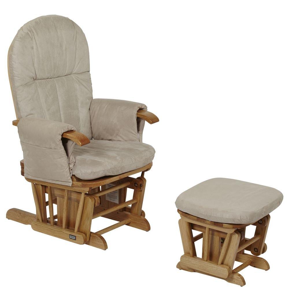 Tutti Bambini GC35 Neigbarer Sessel und Hoker, naturfarbener Polsterbezug günstig online kaufen