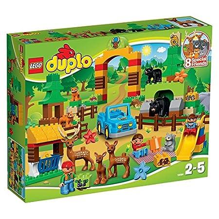 LEGO - 10584 - DUPLO - Jeu de Construction - Le Parc de la forêt