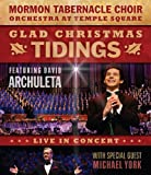 Glad Christmas Tidings Featuring David Archuleta and Michael York [Blu-ray]