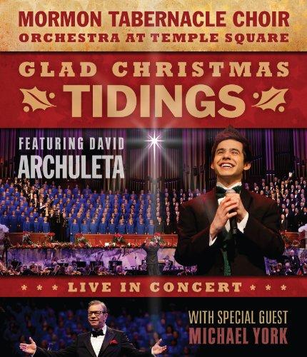 Glad Christmas Tidings Featuring David Archuleta and Michael York [Blu-ray]