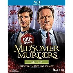 Midsomer Murders, Set 25 [Blu-ray]