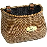 Nantucket Bike Basket Adult Classic Lightship Collection Stained Bicycle Basket