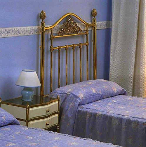 Lits en laiton et têtes de lit: modèle GENÈVE.