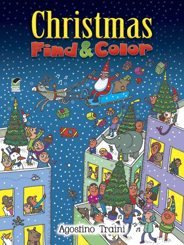 Christmas Find and Color (Dover Children's Activity Books)