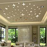 Alrens_DIY(TM) 50pcs Bling-bling Star...