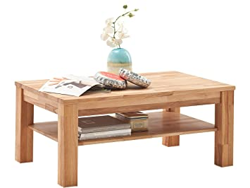 """Couchtisch Massivholztisch Wohnzimmertisch Sofatisch Holztisch Tisch """"Paul II"""""""