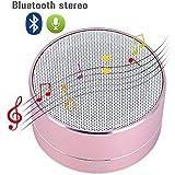 Wireless Bluetooth Speaker, GBTIGER Aluminium Wireless Stereo Portable Bluetooth Speaker With Handsfree Speakerphone... - B01DNXI96C