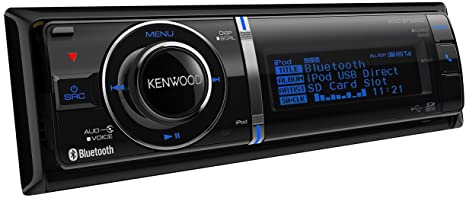 Kenwood KDC-BT92SD Autoradio CD/DVD Noir