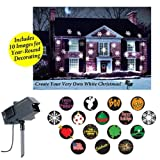 The Amazing New Christmas & All Holidays Outdoor Motion and Light Projector Lighting