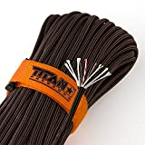 TITAN-SurvivorCord-Parachute-Cord-Military-550-Paracord-Fishing-Line-Waxed-Jute-Conductive-Wire-Exclusive-Patent-Pending-Design-Includes-FREE-Paracord-Project-eBooks