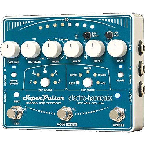 Electro Harmonix / Super Pulsar Stereo Tap Tremolo
