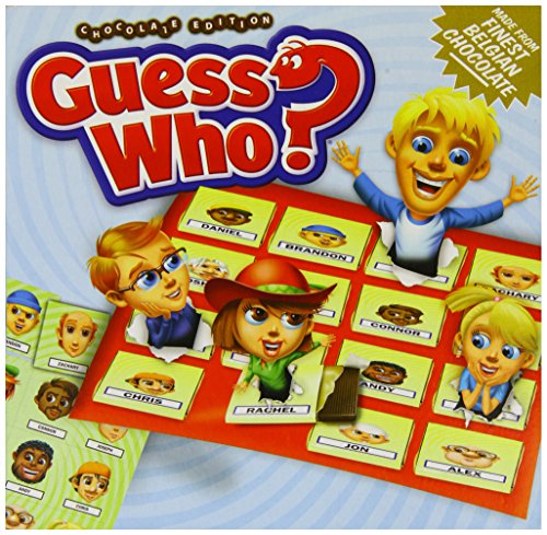Games For Motion Guess Who With Chocolate Pieces