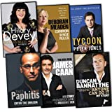 Autobiographies Dragons Den 6 Books Collection Pack Set RRP: £66.94 (Tycoon, Anyone Can Do It, Enter the Dragon, The Real Deal, Common Sense Rules, Bold As Brass(Hardcover))