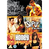 "Step Up / Step Up 2: The Streets / Honey [3 DVDs] [UK Import]von ""Step Up/Step Up 2 -..."""