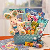 Gift Basket Drop Shipping Little Cottontails Easter Activity Easter Basket - Blue