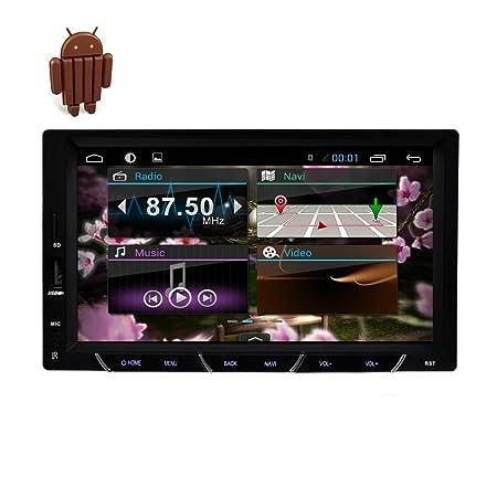 "vw HDFree Cš¢mara Incluido Double Deck 2 Din 7 ""Android 4.4.4 Sistema de Accesorios de coche estšŠreo GPS de navegaciš®n DVD CD 2DIN jugador de la pantalla tš¢ctil wifi Bluetooth HD Car Auto Radio Audi"