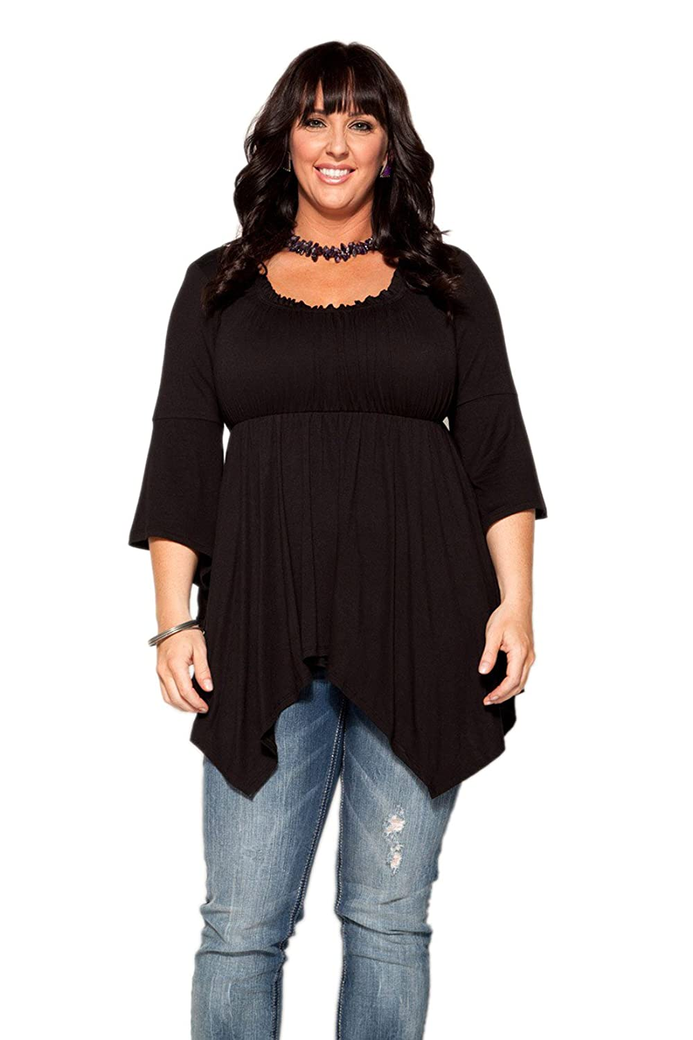 CANARI Plus-Size Women's Empire Waist Top