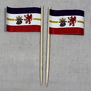 Party-Picker Flagge, Mecklenburg Vorpommern