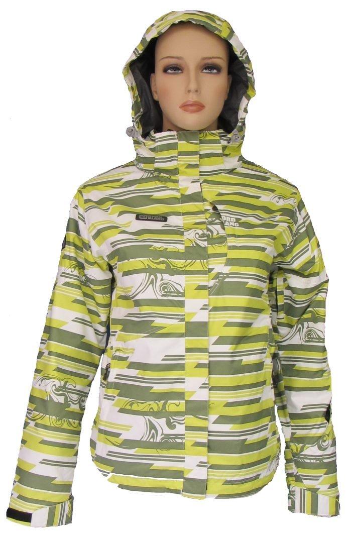 NordBlanc Damen Schnee Sport Jacke ZOYA gelb-weiß-grau 36-44 günstig