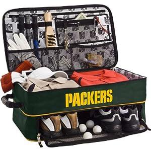 Athalon Green Bay Packers Golf Trunk Locker Organizer