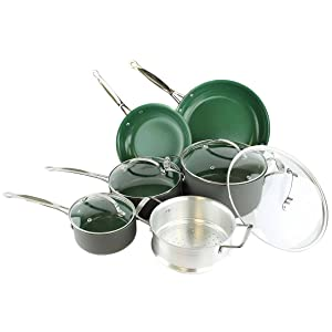 Telebrands Orgreenic, 10-Piece Set (Including Lids) with review