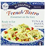 St. Dalfour Gourmet On The Go, Ready to Eat  Tuna & Pasta, 6.2-Ounce Tins (Pack of 6)