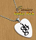 Ok Go OKGO Chain / Necklace Bass Guitar Pick Both Sides Printed
