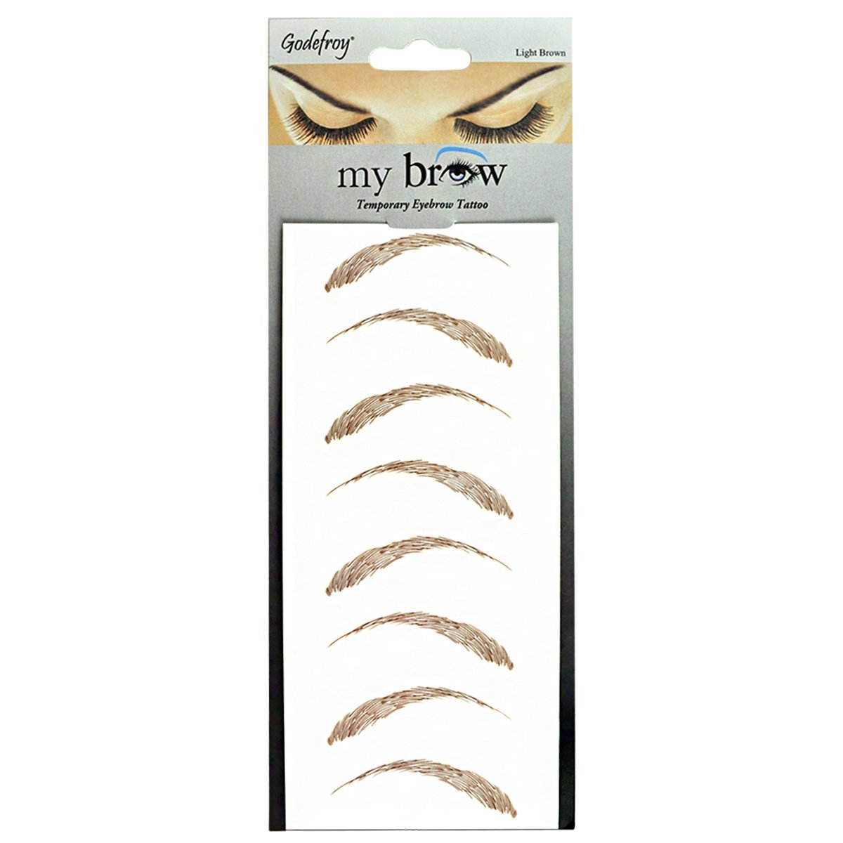 My new favorite thing instant eyebrow fix trichsters for Temporary eyebrow tattoos