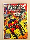 The Avengers #89 Captain Marvel Jun 71 NO MAILING LABEL Very Good (3 out of 10) Well Used by Mickeys Pubs