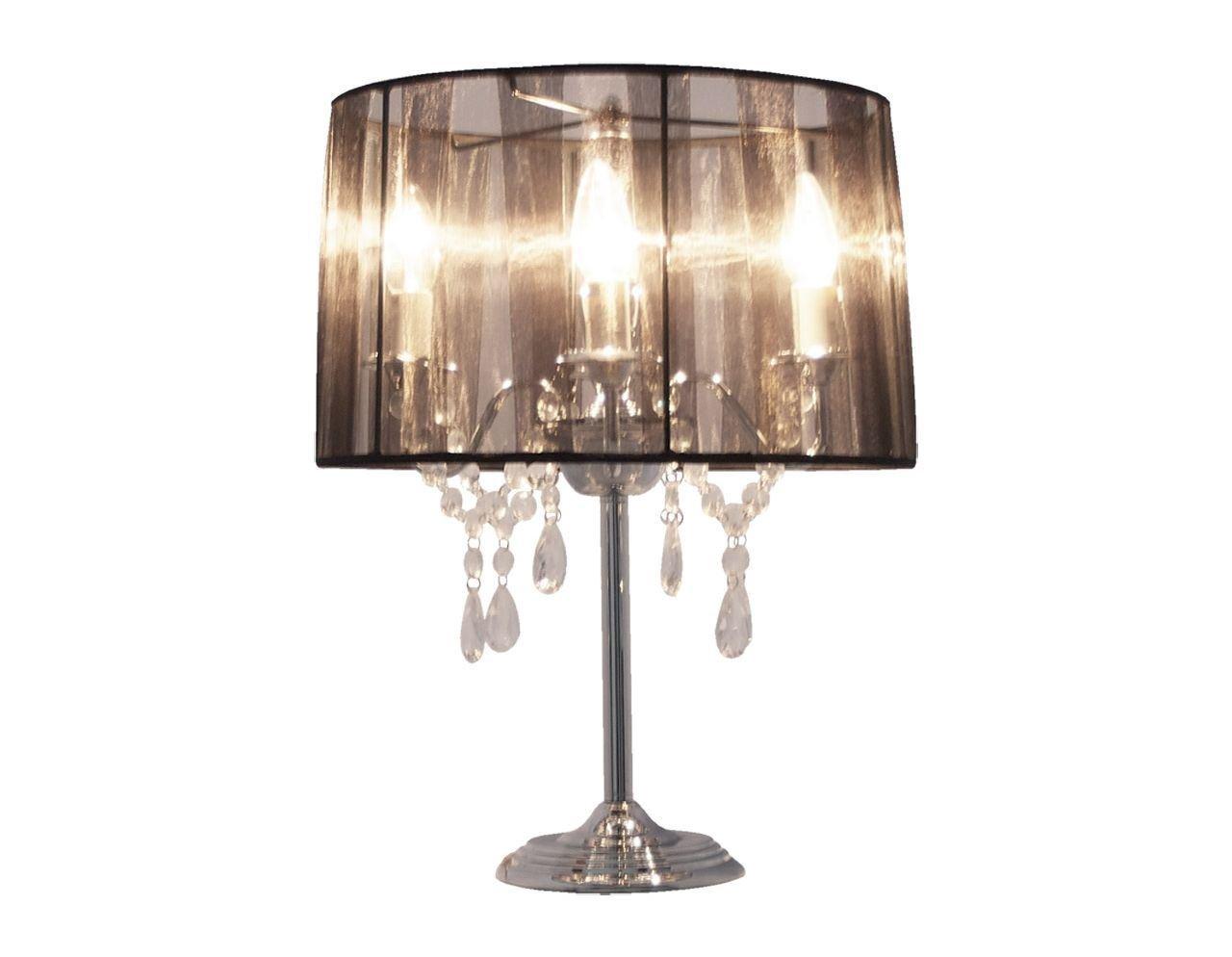 Lampade Da Tavolo Di Lavoro : Abat jour lampada da tavolo gocce pendenti nero lampade