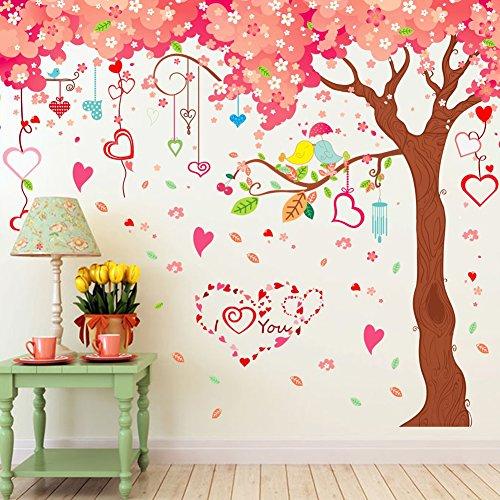 grande-ciliegia-fiori-alberi-casa-cuori-adesivo-da-parete-decorazioni-in-pvc-vinile-carta-da-parati-