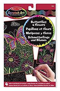 Melissa and Doug Color-Reveal Pictures Butterfliesand Flowers(1)