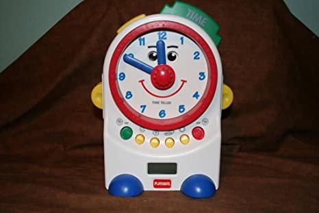 Toy Clock For Teaching Time Time Talking Clock Toy