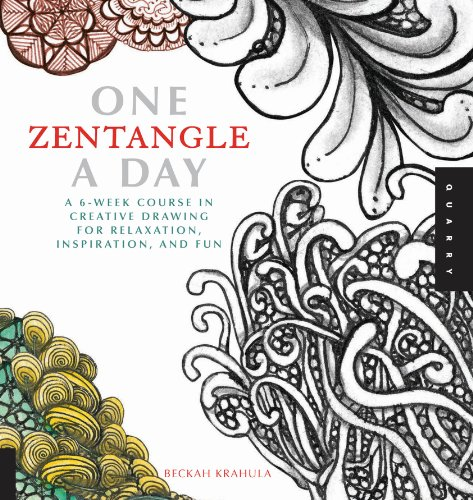 Beckah Krahula - One Zentangle A Day
