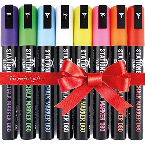 pennarelli-stationery-island-d68-8-pennarelli-a-gesso-liquido-colori-assortiti-brillanti-punta-a-sca