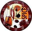 Wanduhr modern Chili Spicy K�chenuhr rund Quarzuhr Geschenk neu - Tinas Collection - Das etwas andere Design