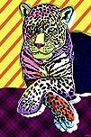 Maxwell Dickson Cat Colors Modern Canvas Wall Art Print Artwork