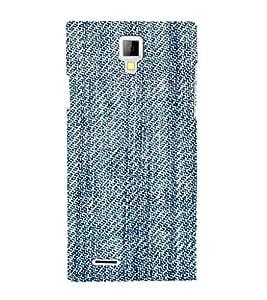 EPICCASE Blue stiches Mobile Back Case Cover For Micromax Canvas Xpress A99 (Designer Case)