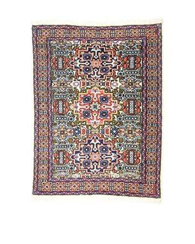 Eden Carpets Alfombra Ardebil Rojo/Multicolor 100 x 77 cm