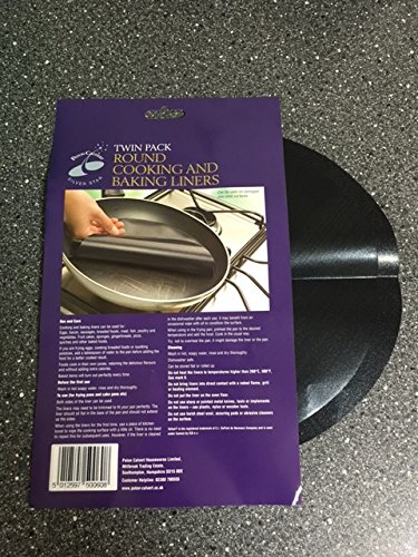 Rond Cooking and Baking Lot de 2 doublures