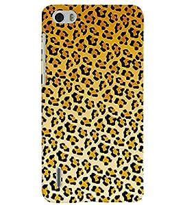 PrintVisa Corporate Print & Pattern Animal Print 3D Hard Polycarbonate Designer Back Case Cover for Huawei Honor 6