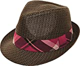 Toyo brown fedora hat. Size