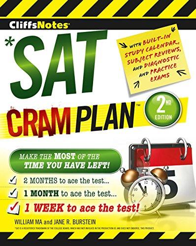 Cliffsnotes SAT Cram Plan 2nd Edition