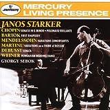echange, troc Janos Starker - Sonata In G Minor;Polonaise Brillante;First Rhapsody;Variations Concertantes...